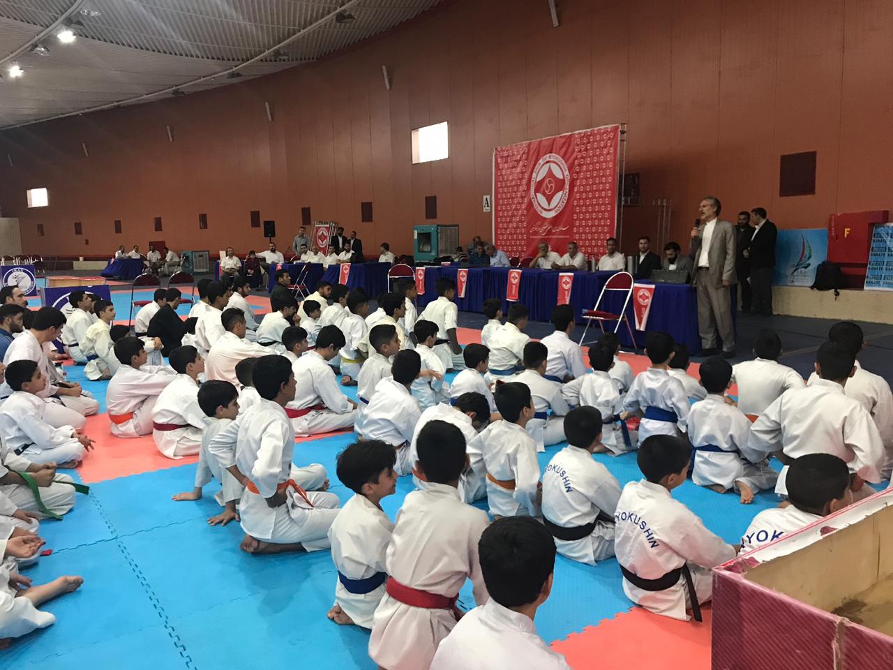مسابقات چندجانبه کاراته