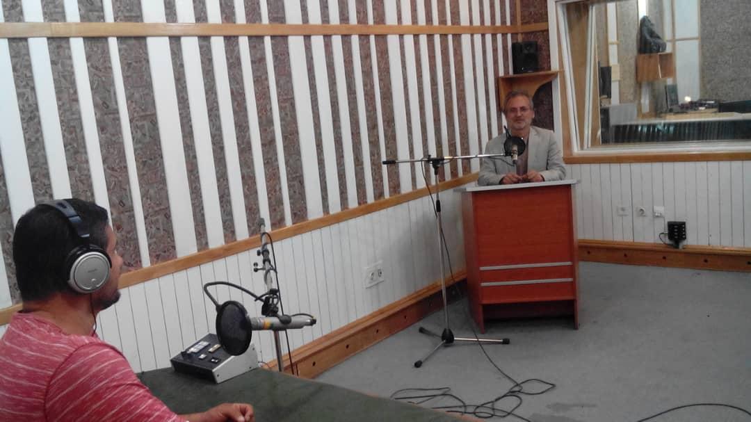 مصاحبه راديو ورزش با كانچو حصارى رئيس سبك شين دو كيوكوشين كاراته